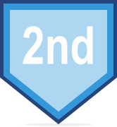 2nd place course badge