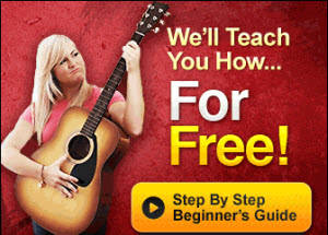 Guitartricks review image showing of their free 14 day access to guitar lessons